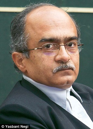 Adv. Prashant Bhushan Photo Credit: Yasbant Negi